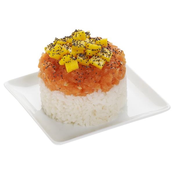TARTARE SAUMON MANGUE